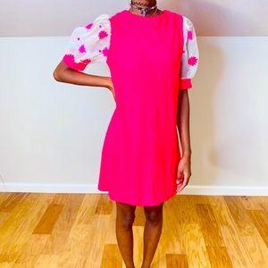 Vintage Mod Shift Dress, Flower Power 🌸🌺